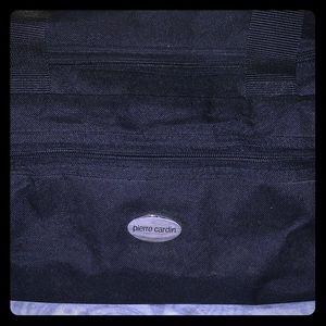 Pierre Cardin Medium Size Black Vintage Duffle Bag